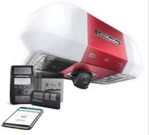 Liftmaster 85503 Battery Backup Belt Drive WiFi W/Integrated Camera Head ONLY NO Rail NO Belt