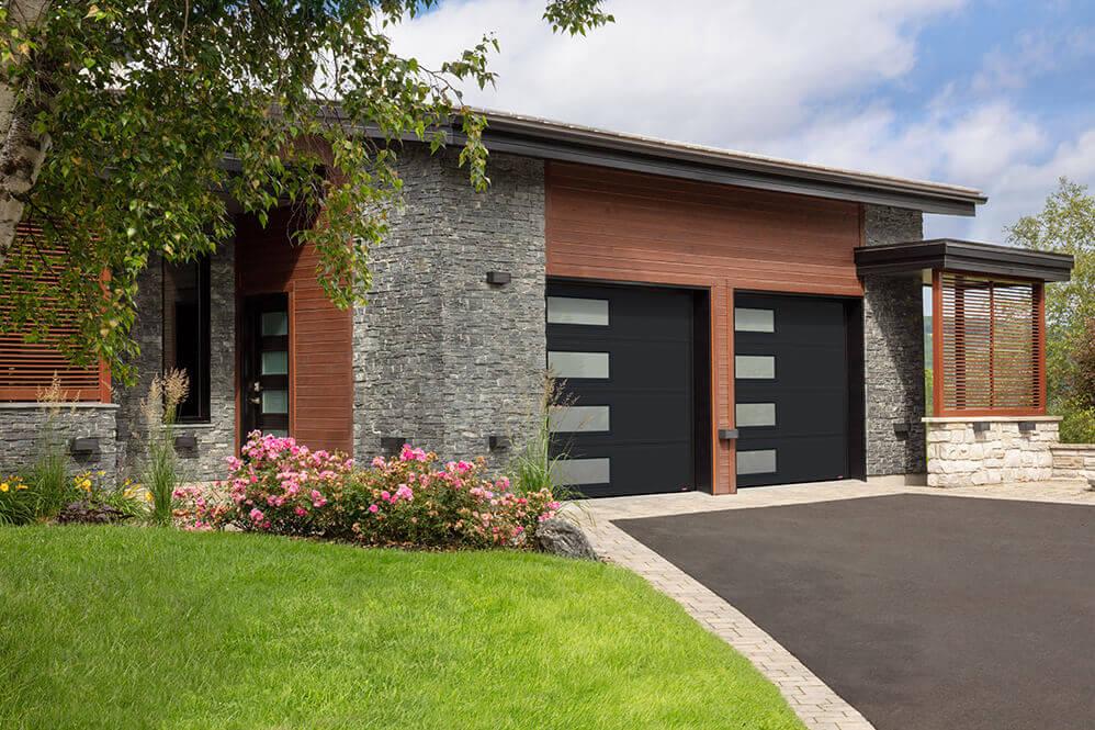 side windows garage doors