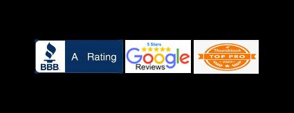 bbb rated thumbtack google reviews